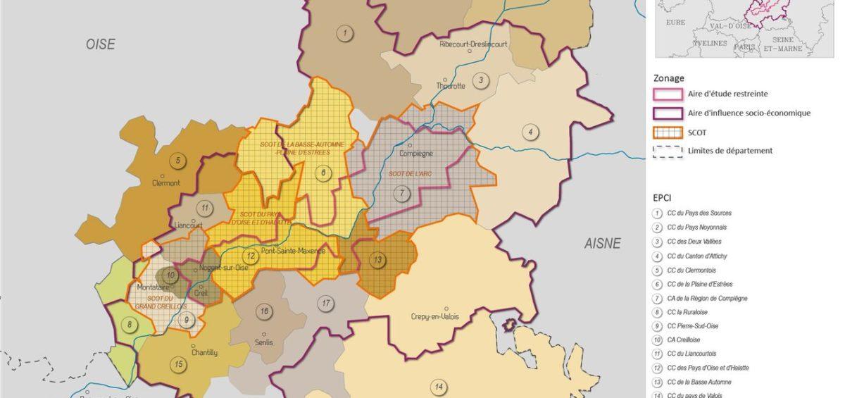 Carte des SCOT et EPCI dans le périmètre de MAGEO - Guillaume Sciaux - Cartographe professionnel
