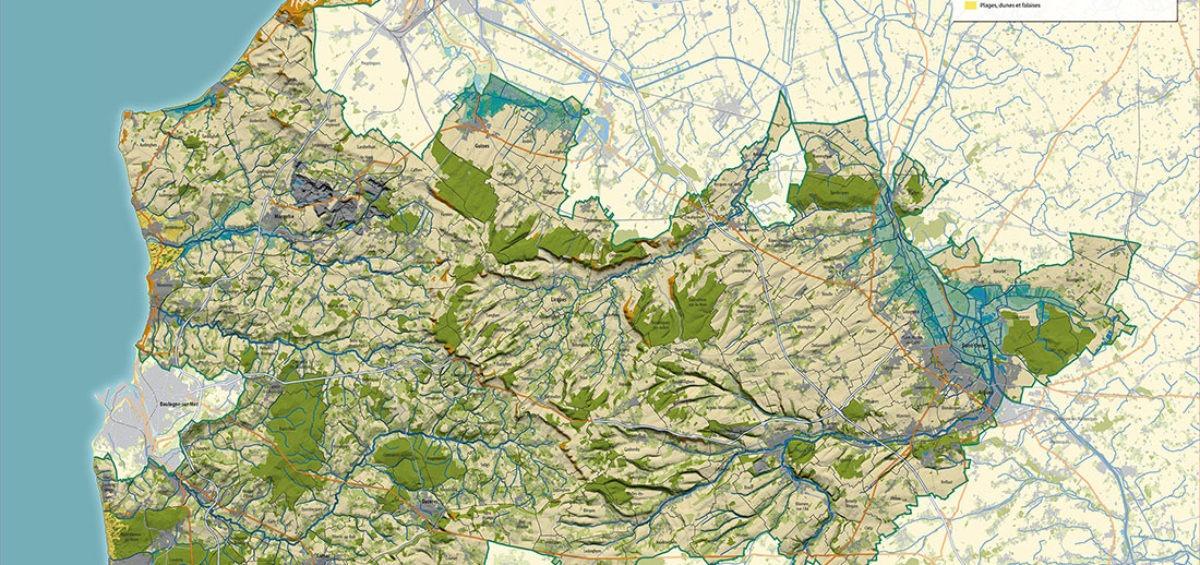 Carte PNR - Guillaume Sciaux - Cartographe professionnel