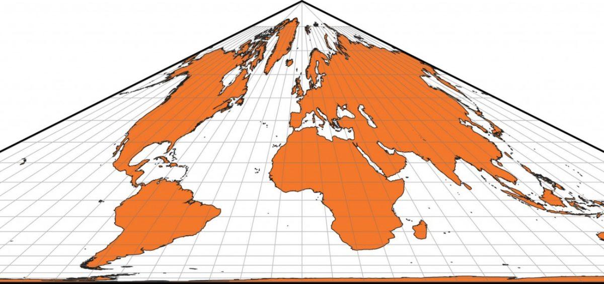 Projection cartographique de Collignon - Guillaume Sciaux - Cartographe professionnel