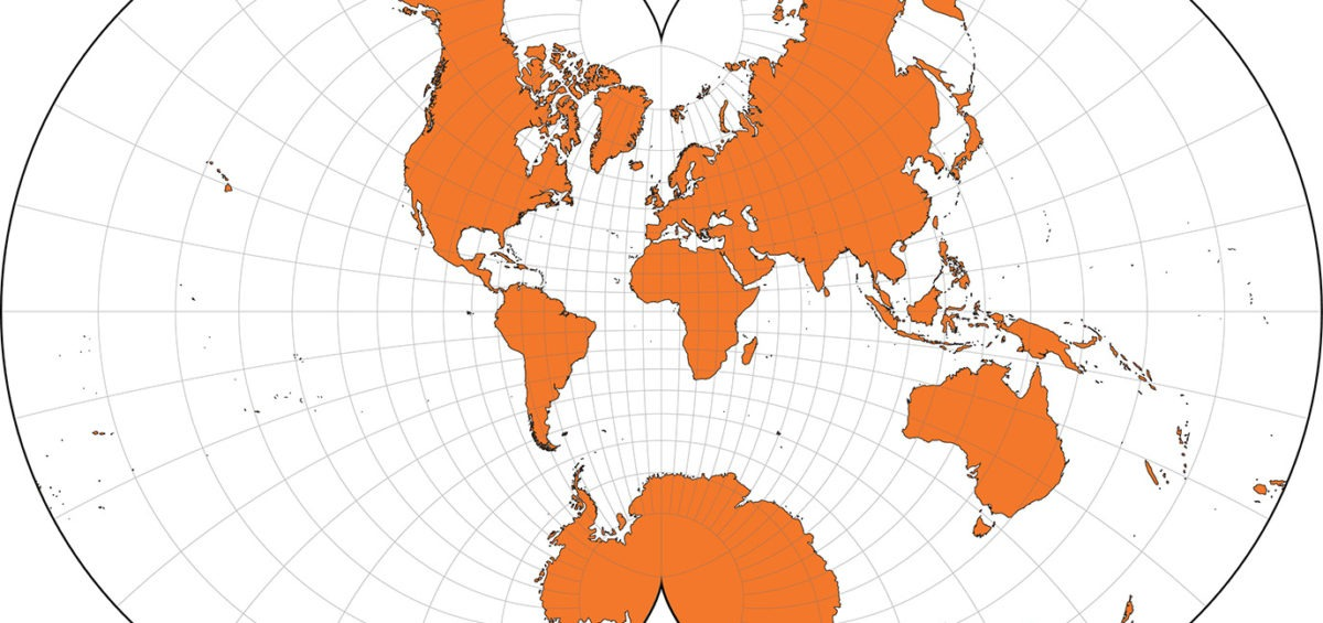 Projection cartographique d'Eisenlohr - Guillaume Sciaux - Cartographe professionnel