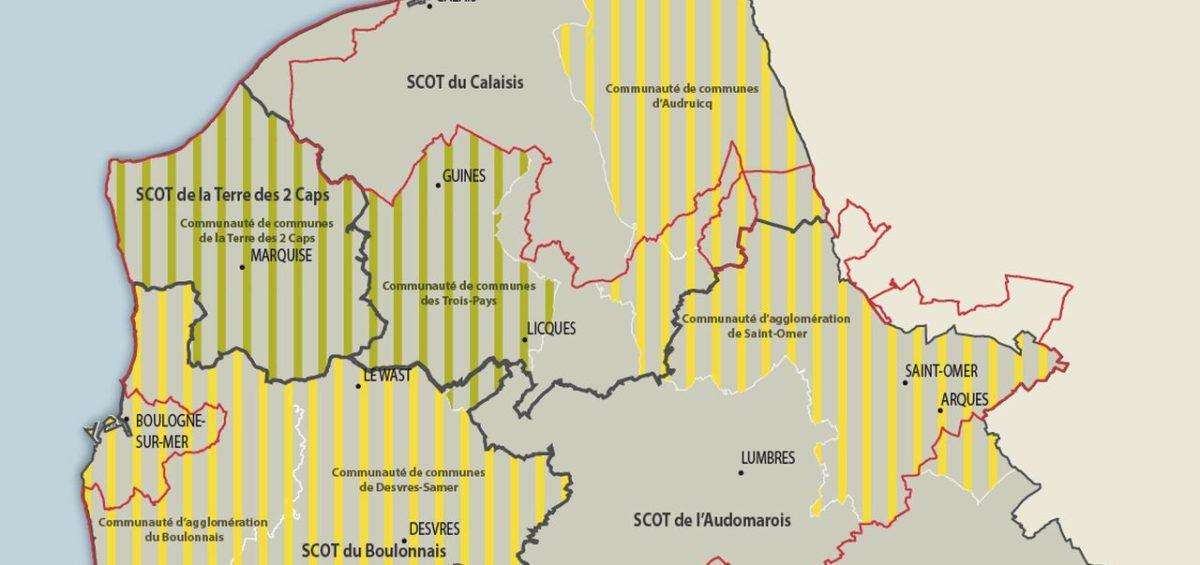 PNR Cote d'Opale - Documents d'urbanisme - Guillaume Sciaux - Cartographe professionnel