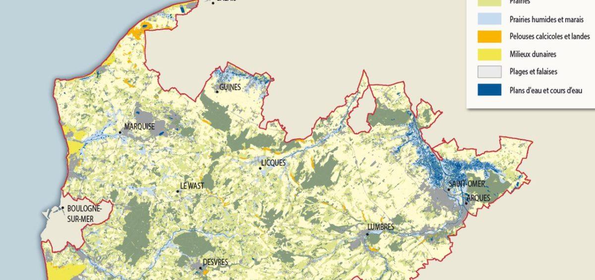 PNR Cote d'Opale - Habitats naturels - Guillaume Sciaux - Cartographe professionnel
