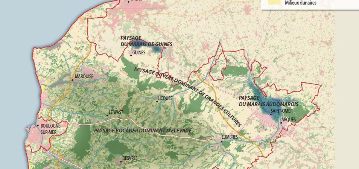 PNR Cote d'Opale - Paysages agricoles - Guillaume Sciaux - Cartographe professionnel