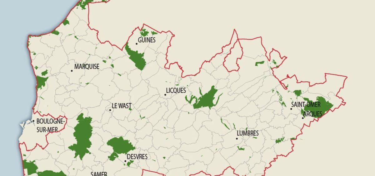 PNR Cote d'Opale - Sites naturels - Guillaume Sciaux - Cartographe professionnel