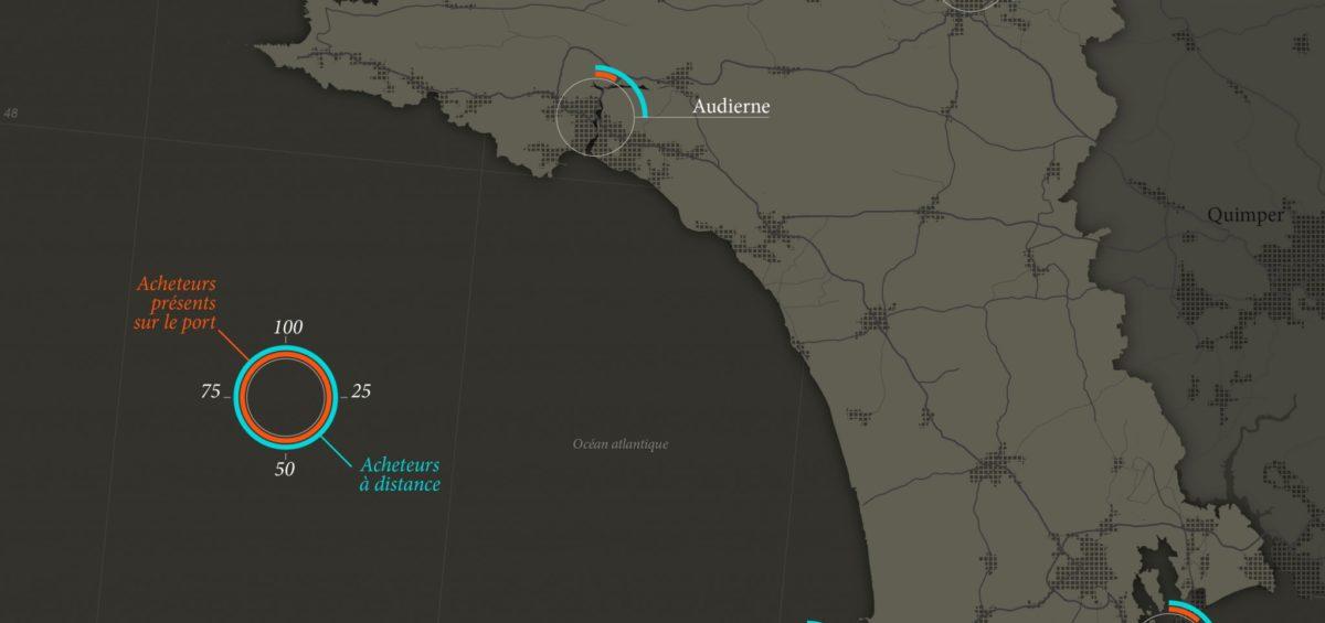 Cornouaille - Acheteurs pêche - Guillaume Sciaux - Cartographe professionnel