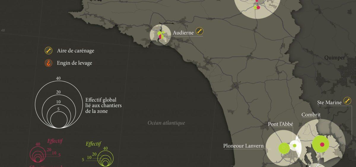 Cornouaille - Chantiers navals - Guillaume Sciaux - Cartographe professionnel