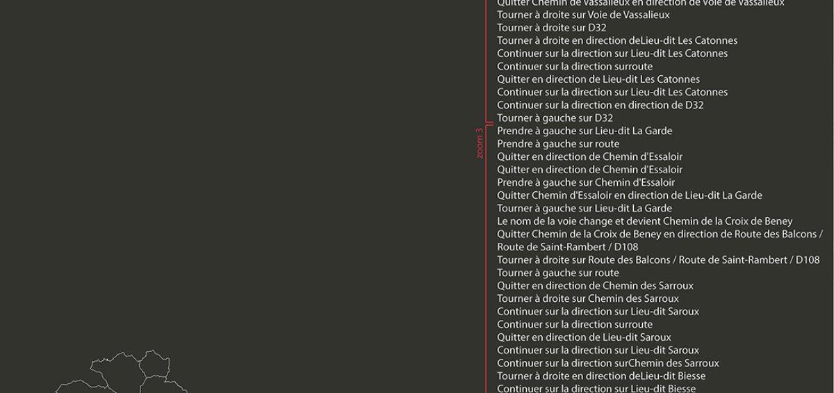 Carte des tournée ramassage ordures ménagères 6 - Guillaume Sciaux - Cartographe professionnel