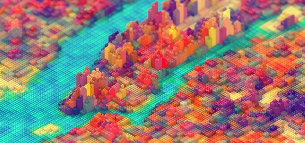 Carte Lego bandeau - Guillaume Sciaux - Cartographe professionnel