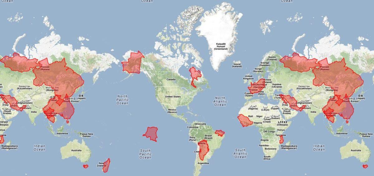 Mercator puzzle - Guillaume Sciaux - Cartographe professionnel