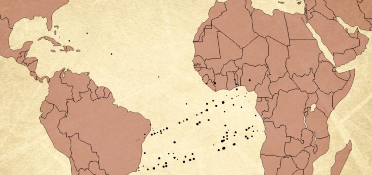 Esclavage - Guillaume Sciaux - Cartographe professionnel