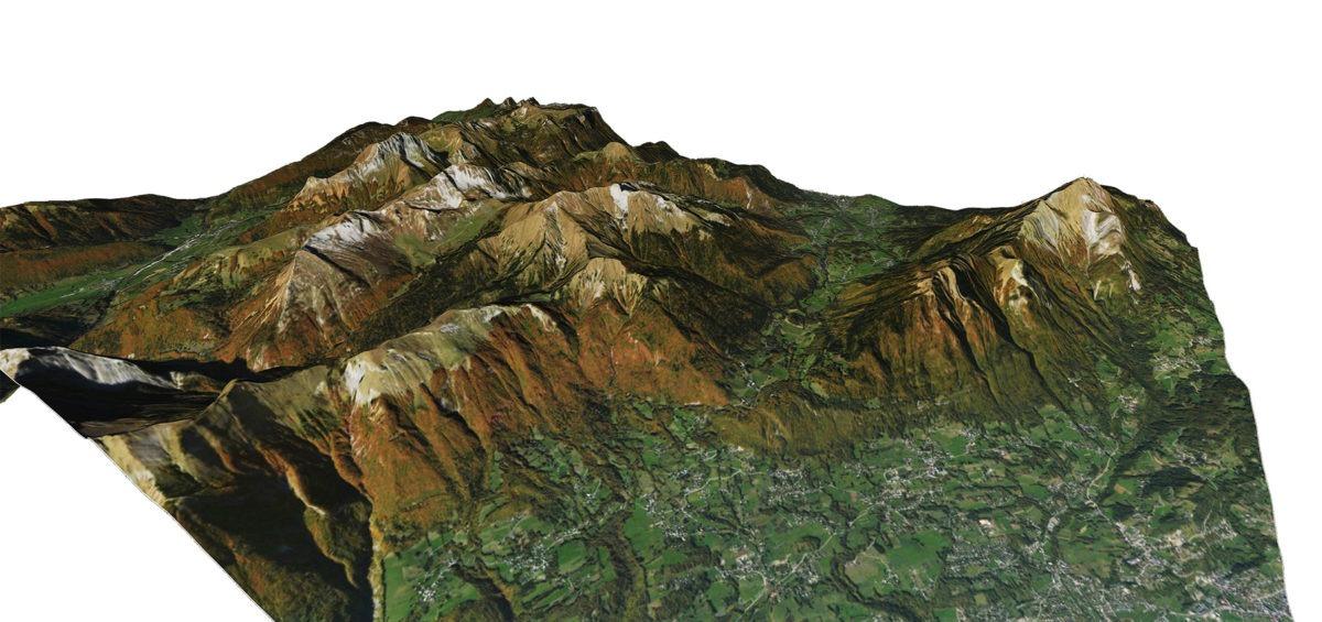 Alpes 3d 1 - Guillaume Sciaux - Cartographe professionnel