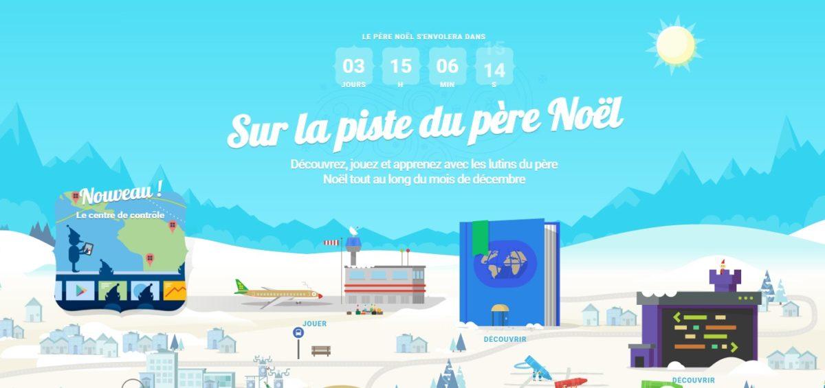 Santa Tracker - Guillaume Sciaux - Cartographe professionnel
