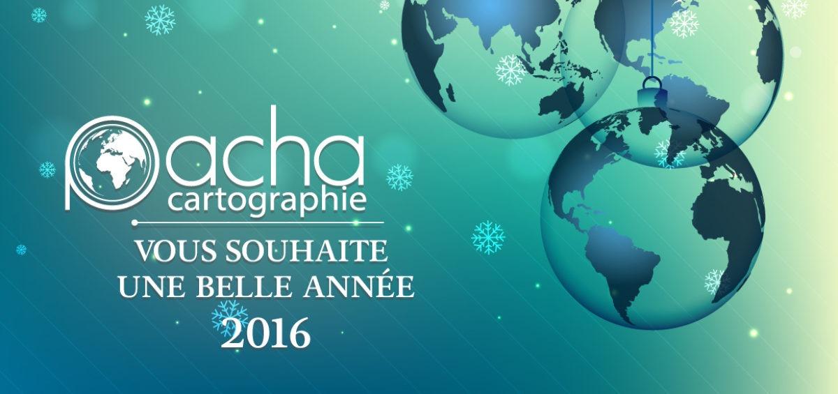 Voeux 2016 Pacha cartographie - Guillaume Sciaux - Cartographe professionnel