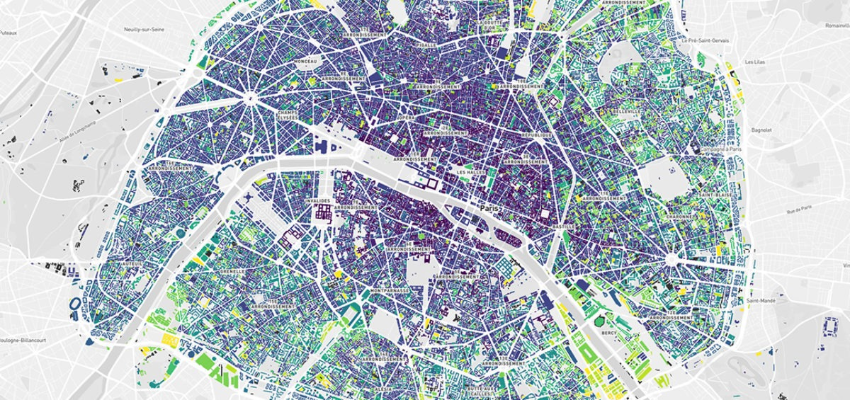 carte age Paris - Guillaume Sciaux - Cartographe professionnel