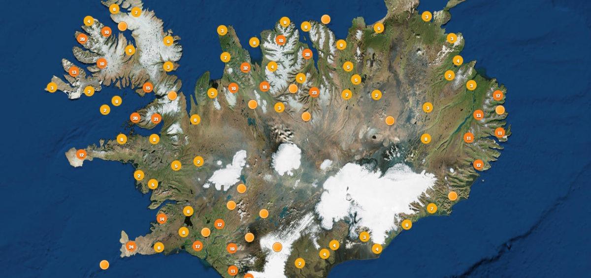 Carte des lieux pour rencontrer des elfes - Guillaume Sciaux - Cartographe professionnel