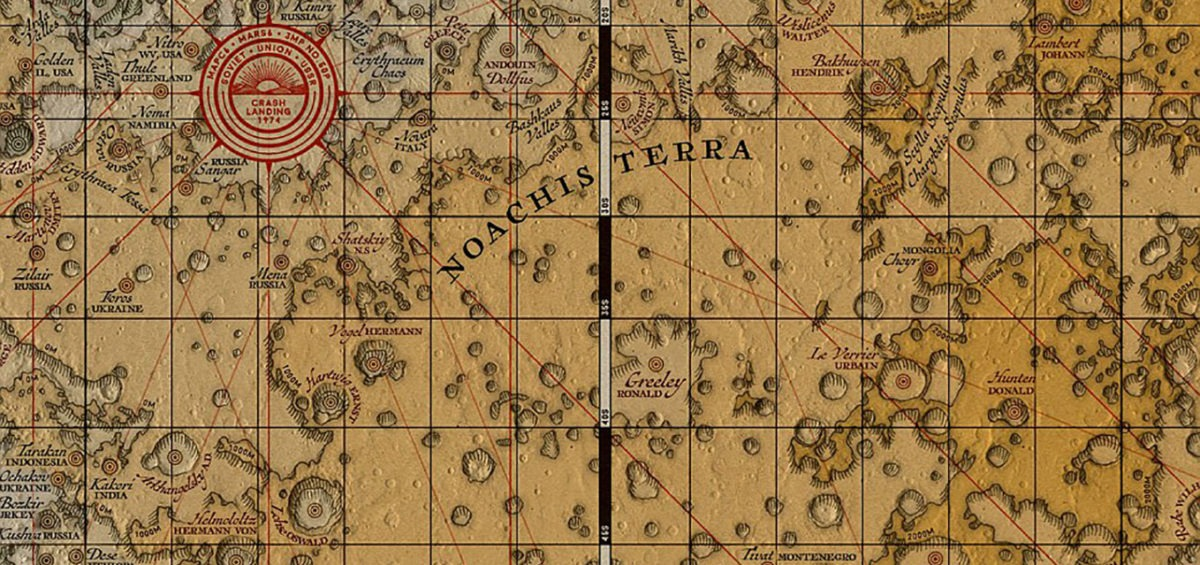 Carte de Mars - Eleanore Lutz intro - Guillaume Sciaux - Cartographe professionnel