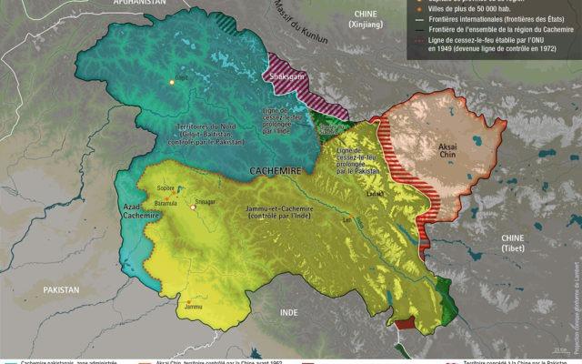 atlas-dessous-des-cartes-cachemire - Guillaume Sciaux - Cartographe professionnel