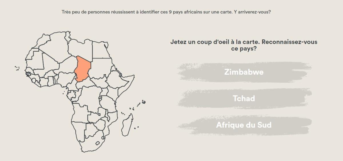 Jeu cartographique 6 - Géographie africaine - Guillaume Sciaux - Cartographe professionnel
