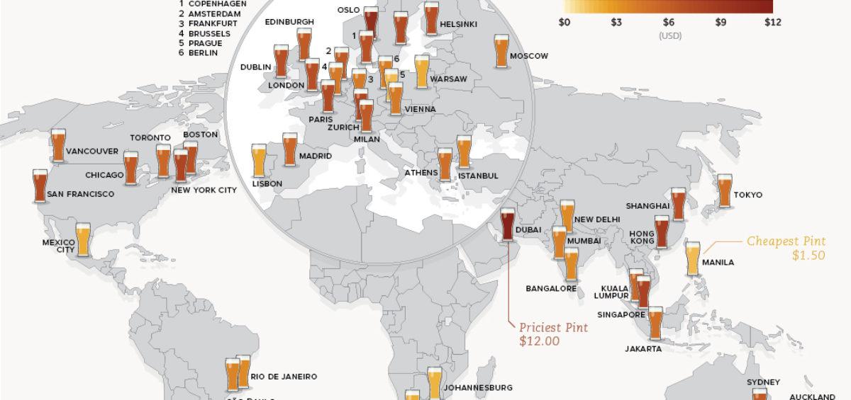 Prix de la bière - Guillaume Sciaux - Cartographe professionnel