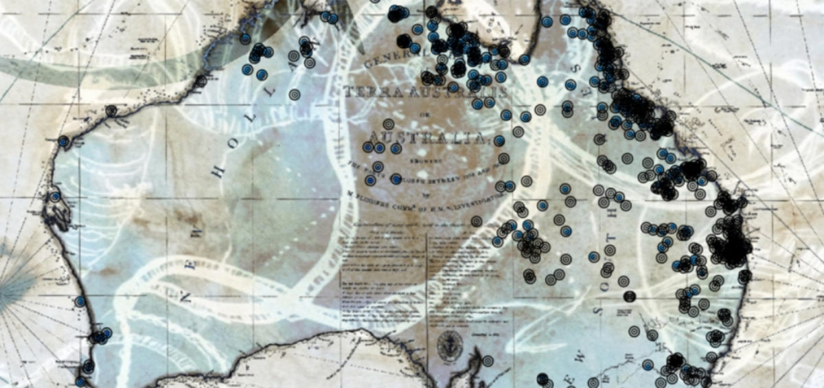 Massacres Australie - Judy Watson 2 - Guillaume Sciaux - Cartographe professionnel