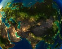 La Terre illuminée (3) - Guillaume Sciaux - Cartographe professionnel
