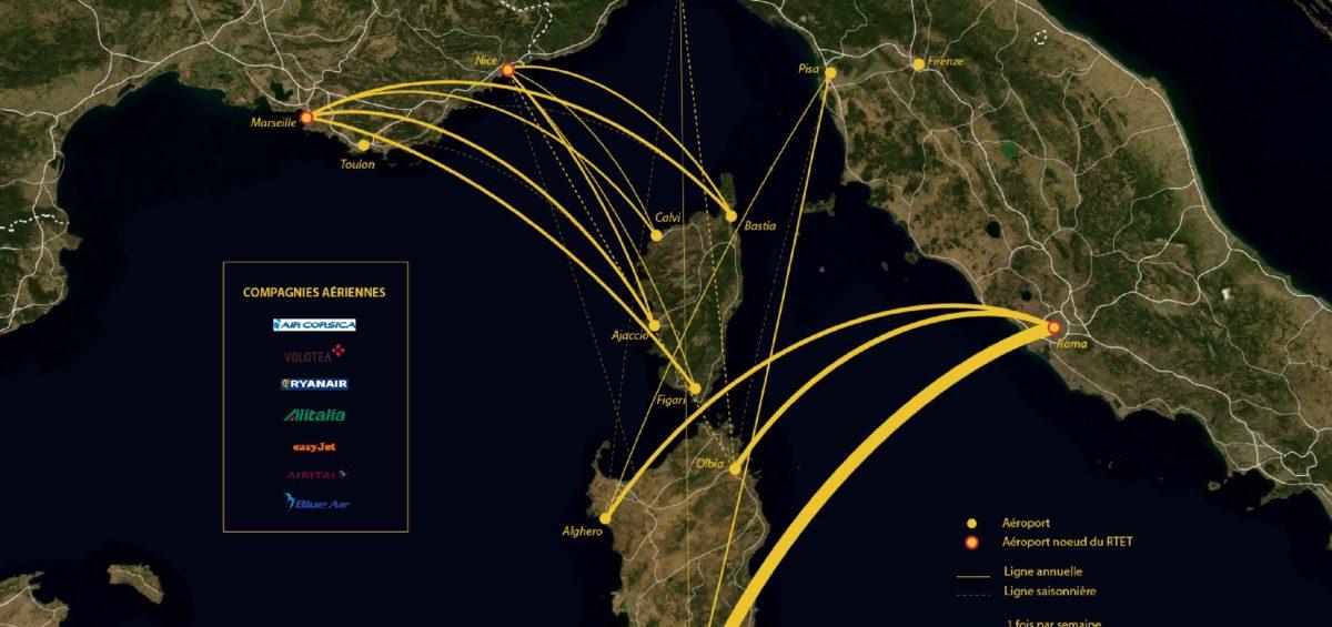 Liaisons aériennes et insulaires - Guillaume Sciaux - Cartographe professionnel