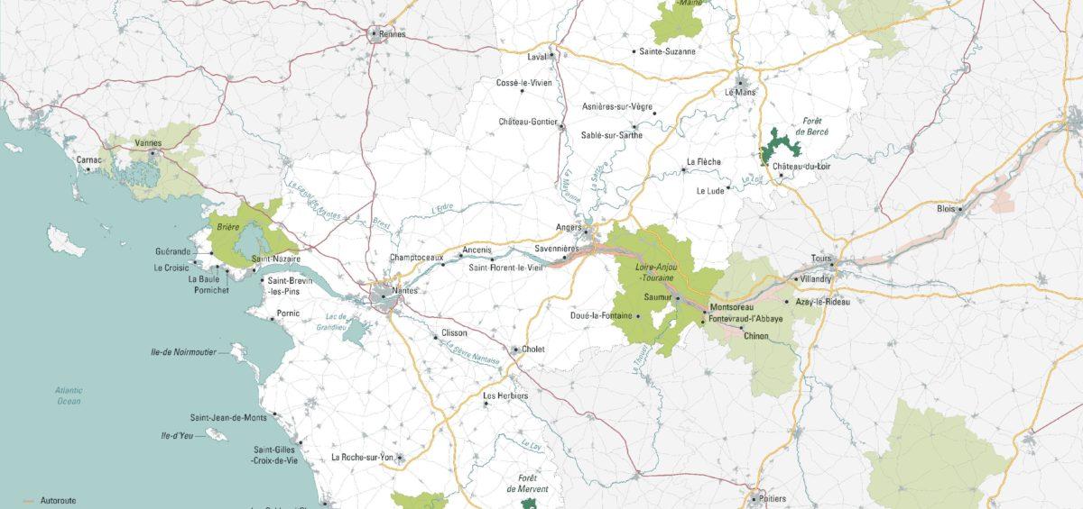 Pays de Loire - Guillaume Sciaux - Cartographe professionnel